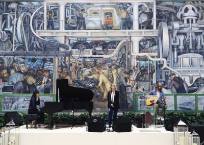 Patti Smith, Diego Rivera Courtyard
