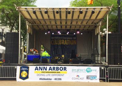 Street Stage, Ann Arbor