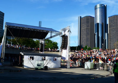 Motor City Pride, Hart Plaza Detroit